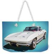 1966 Vette Weekender Tote Bag