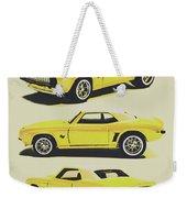 1969 Camaro Weekender Tote Bag