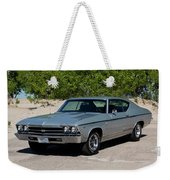 1969 Chevrolet Chevelle Ss 396 Weekender Tote Bag