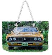 1970 Ford Torino Gt Weekender Tote Bag