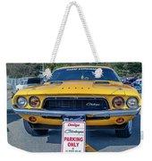 1973 Dodge Challenger Weekender Tote Bag