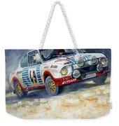 1977 Rallye Monte Carlo Skoda 130 Rs Blahna Hlavka Winner Weekender Tote Bag