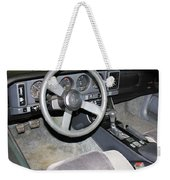 1986 Pontiac Trans Am Dashboard Weekender Tote Bag