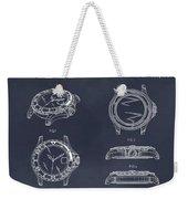 1999 Rolex Diving Watch Patent Print Blackboard Weekender Tote Bag