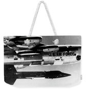 1x15 Rocket Plane Launched From The B52 Carrying It, 1962 Weekender Tote Bag