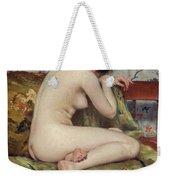 A Modern Magdalen Weekender Tote Bag