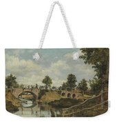 An Old Bridge At Hendon  Middlesex  Weekender Tote Bag