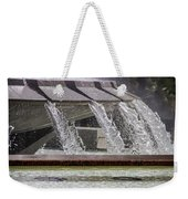 Arthur J. Will Memorial Fountain At Grand Park Weekender Tote Bag