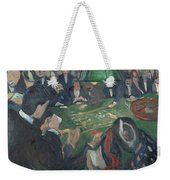 At The Roulette Table In Monte Carlo  Weekender Tote Bag