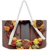 Autumn Wreath Weekender Tote Bag