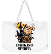 Barking Spider Halloween Design For Dog Lovers Light Weekender Tote Bag