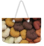 Colored Yarn Weekender Tote Bag