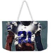 Dallas Cowboys.ezekiel Elliott. Weekender Tote Bag