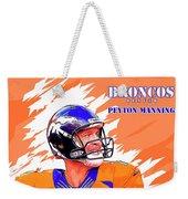 Denver Broncos.peyton Manning. Weekender Tote Bag