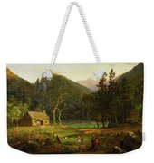 Eagle Cliff, Franconia Notch, New Hampshire Weekender Tote Bag