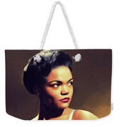 Eartha Kitt, Hollywood Legend Weekender Tote Bag