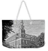 First Baptist Church Columbia Weekender Tote Bag