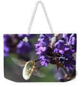 Fly Bee Weekender Tote Bag