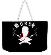 Funny Murse Male Nurse Hospital Medicine Gift Weekender Tote Bag