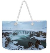 Godafoss - Iceland Weekender Tote Bag