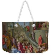 Joseph With Jacob In Egypt  Weekender Tote Bag