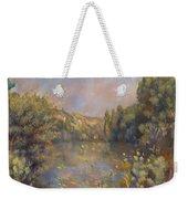 Lakeside Landscape  Weekender Tote Bag