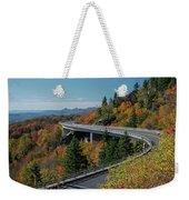 Linn Cove Viaduct - Blue Ridge Parkway Weekender Tote Bag