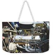 Old Car Engine Weekender Tote Bag