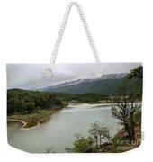 Picturesque Laguna Verde, Tierra Del Fuego National Park, Ushuaia, Argentina Weekender Tote Bag