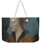 Portrait Of A Noblewoman Weekender Tote Bag
