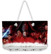Star Wars The Last Jedi  Weekender Tote Bag
