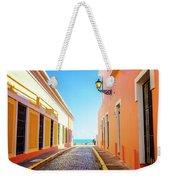 Streets Of San Juan - Puerto Rico Weekender Tote Bag