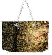 Stunning Fine Art Landscape Image Of Winter Forest Landscape In  Weekender Tote Bag