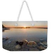 Sunset Over Platte River Weekender Tote Bag