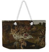 The Fight Between The Lapiths And The Centaurs  Weekender Tote Bag