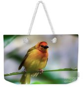 Yellow Bird Weekender Tote Bag