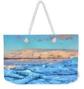 Jokulsarlon - Iceland Weekender Tote Bag