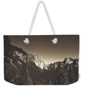 Beautiful Yosemite Valley Weekender Tote Bag
