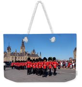 Changing Of The Guard In Ottawa Ontario Canada Weekender Tote Bag