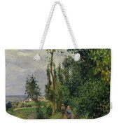 Cote Des Grouettes  Near Pontoise  Weekender Tote Bag