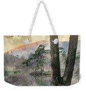 Digital Watercolor Painting Of Beautiful Landscape Image Of Tarn Weekender Tote Bag