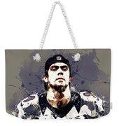 Justin Tucker.baltimore Ravens Weekender Tote Bag