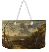 Landscape With Tobias And The Angel  Weekender Tote Bag