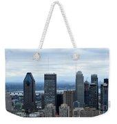 Montreal Skyline Weekender Tote Bag