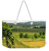 Photograph Of A Field In Germany Weekender Tote Bag