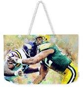 Reggie White. Green Bay Packers. Weekender Tote Bag