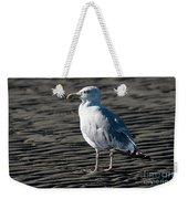 Seagull On Beach Weekender Tote Bag