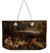 Shepherds And Sheep  Weekender Tote Bag