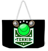 Tennis Player Tennis Racket I Love Tennis Ball Weekender Tote Bag