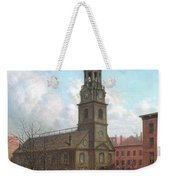 The North Dutch Church  Fulton And William Streets  New York  Weekender Tote Bag